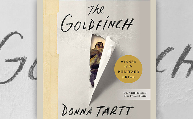 The Goldfinch audiobook by Donna Tartt, narrated by David Pittu
