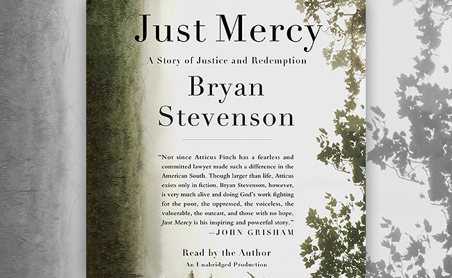 Just Mercy audiobook by Bryan Stevenson.