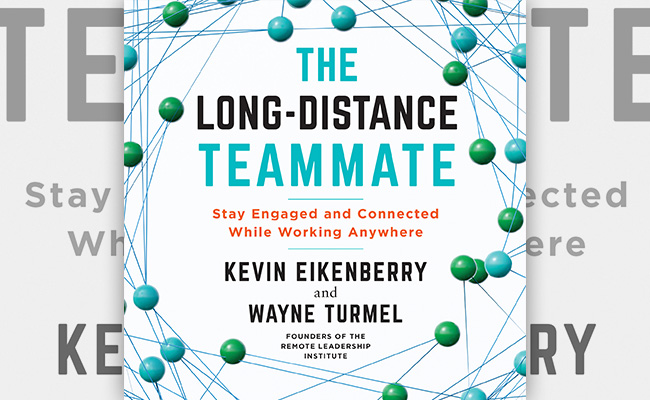 Book cover for The Long Distanced Teammate, an audiobook about remote work.