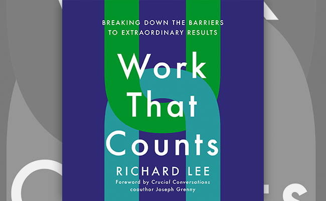 Book cover for Work That Counts, an audiobook about Leadership.
